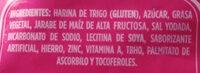 Deliciosas - Ingredients - es