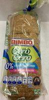 Pan de molde cero cero - Product - en