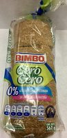 Pan de molde cero cero - Produit - en