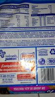 Pan de molde cero cero - Ingrédients - en
