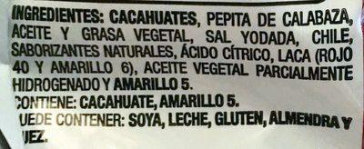 Golden Nuts Surtido Selecto - Ingrédients