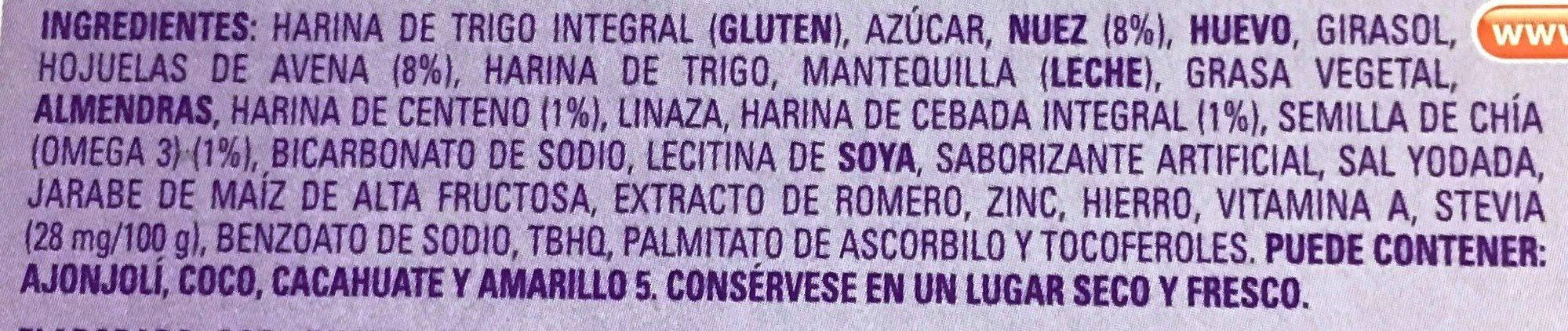 Multigrano Chía - Ingrédients - es