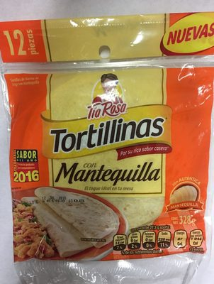 Tortillinas con Mantequilla - Product