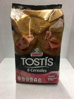 Tostis 8 cereales - Produit - es