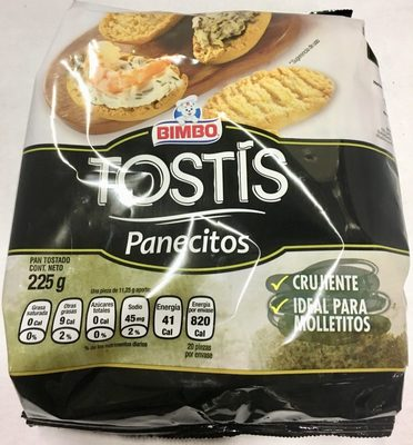TOSTIS PANECITOS - Product