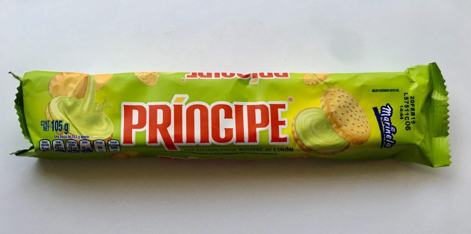 Galletas Príncipe Mousse de Limón Marinela - Product - es