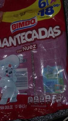 Mantecadas con nuez - Producto - es