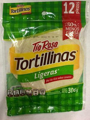 Tortillinas Ligeras - Produit - es