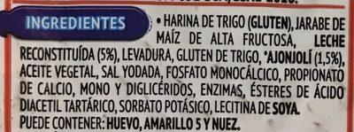 SuperPan Blanco - Ingrédients - es