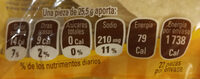 Tortillinas 22P - Informations nutritionnelles - fr
