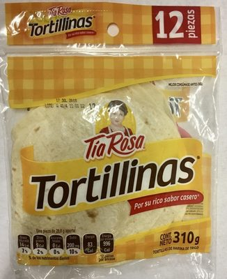 Tortillinas - Produit - es