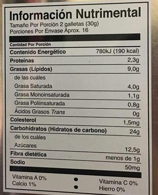Surtido Castilla - Voedingswaarden - es