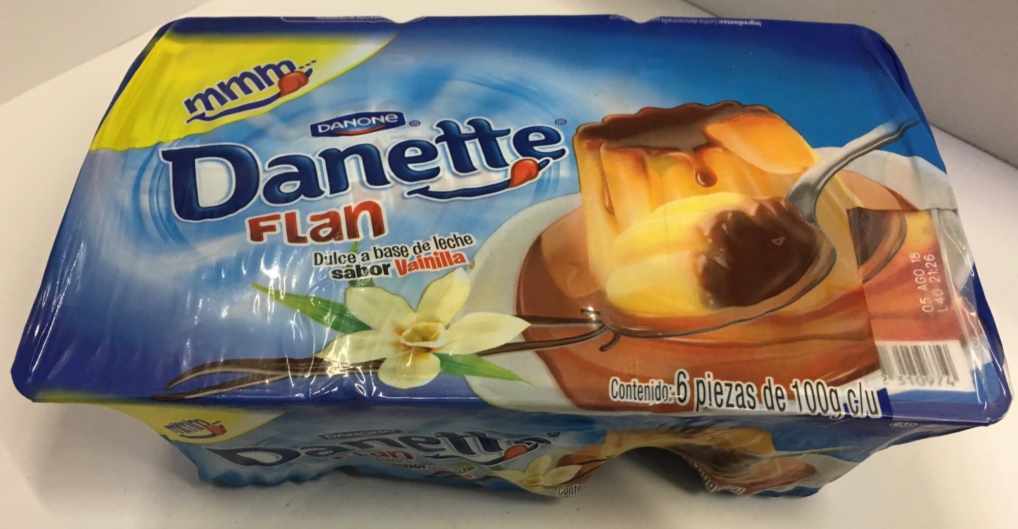 Flan Danette Danone - Product - es