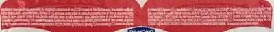 Danonino Fresa 4 Pack - Voedingswaarden