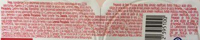 Danonino Fresa, Uva y Durazno 6 pack - Ingrediënten - es