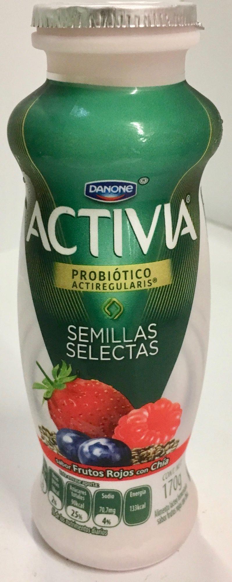 Activia Semillas Selectas Danone - Product
