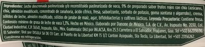 Activia Semillas Selectas Danone - Ingrediënten
