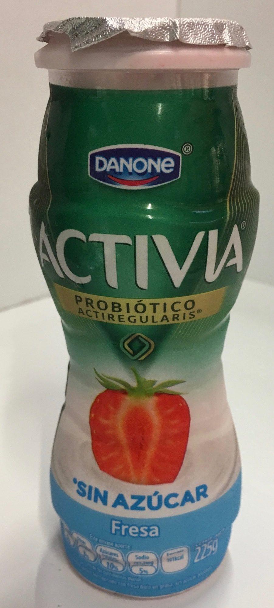 Activia Fresa Sin azúcar - Product