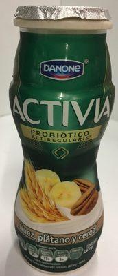 Activia Nuez, plátano y cereal Danone - Product