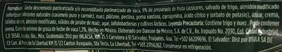 Activia Nuez, plátano y cereal Danone - Ingrediënten