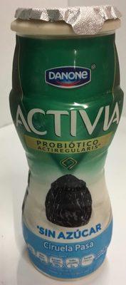 Activia Ciruela Pasa sin azúcar Danone - Product