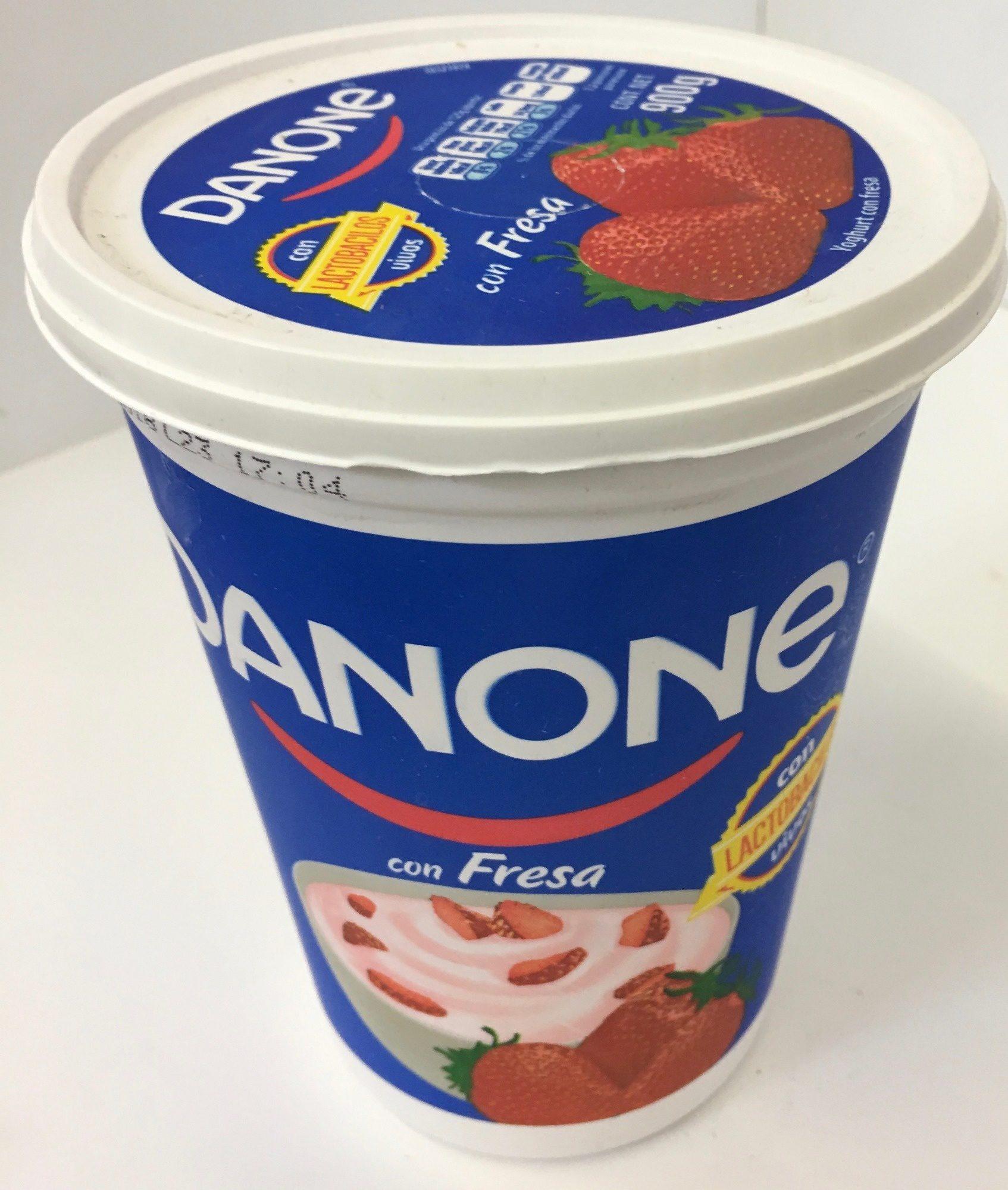 Danone con Fresa - Product - es