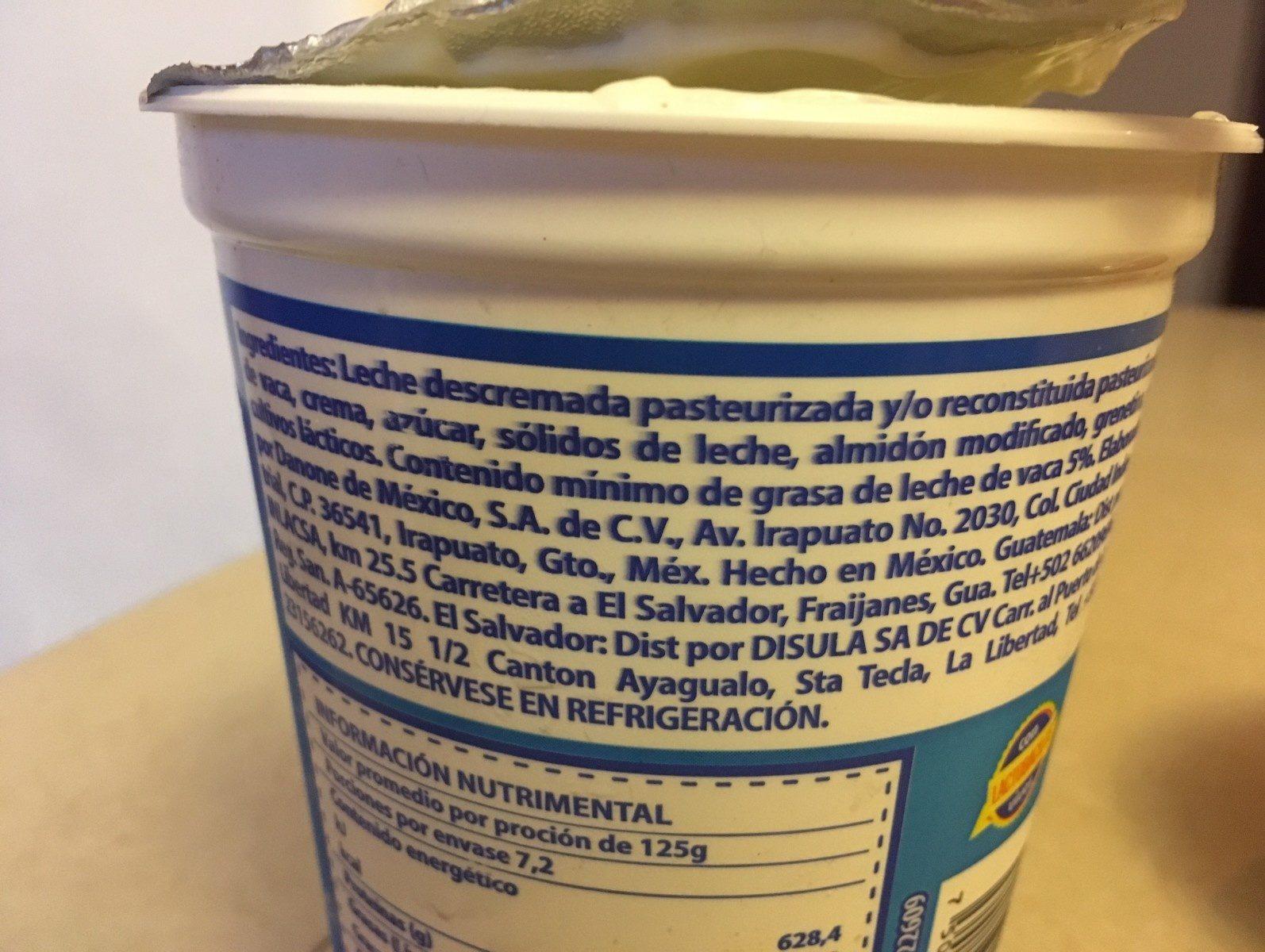 Oikos - Ingrediënten - fr