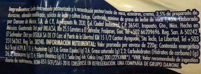 Danone furazno - Ingrediënten
