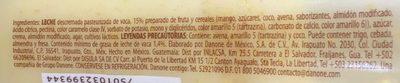 Licuaderia Mango Coco - Ingredients - es