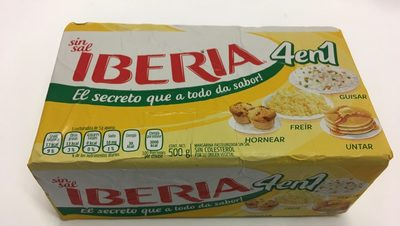 Margarina Sin Sal 4 en 1 Iberia - Product