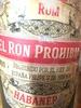 EL RON PROHIBIDO - Product