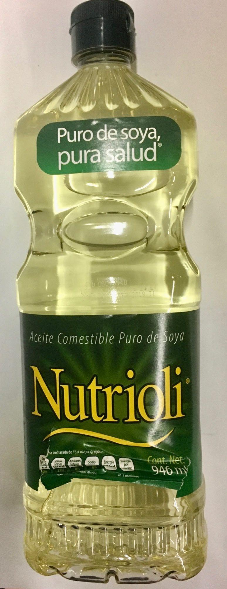 Aceite de soya Nutrioli - Product