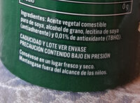 Nutrioli Spray - Ingredientes - es