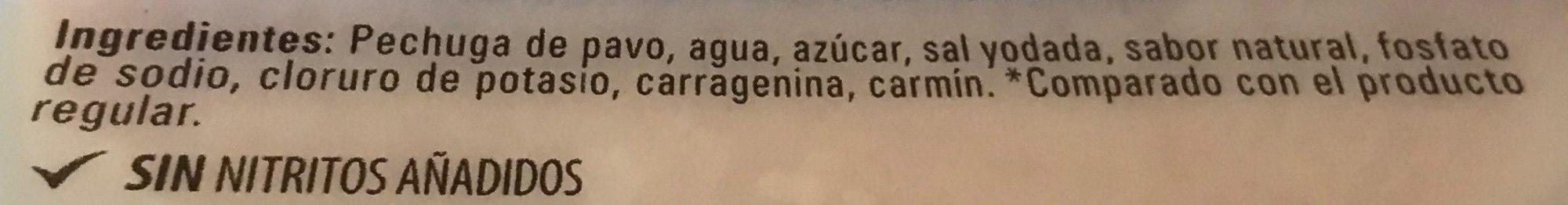 Pechuga de pavo - Ingrediënten