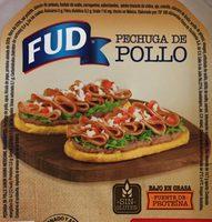 Pechuga de Pollo Adobo Mexicano FUD - Información nutricional - es