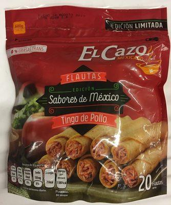 Flautas Edición Sabores de México de Tinga de Pollo El Cazo mexicano - Produit - es