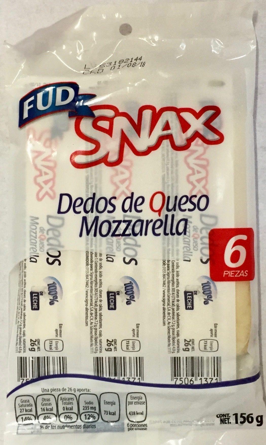 Snax - Dedos de queso mozzarella - Produit - es