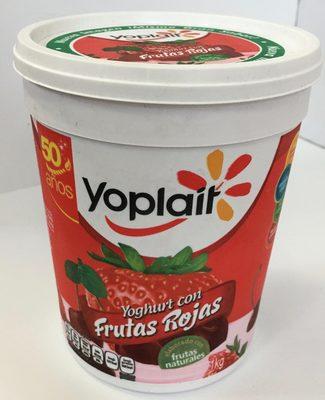 Yoplait Yoghurt con Frutas Rojas - Prodotto - es
