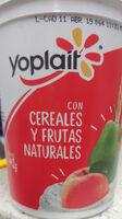 Yoplait: Cereales y frutas naturales - Product