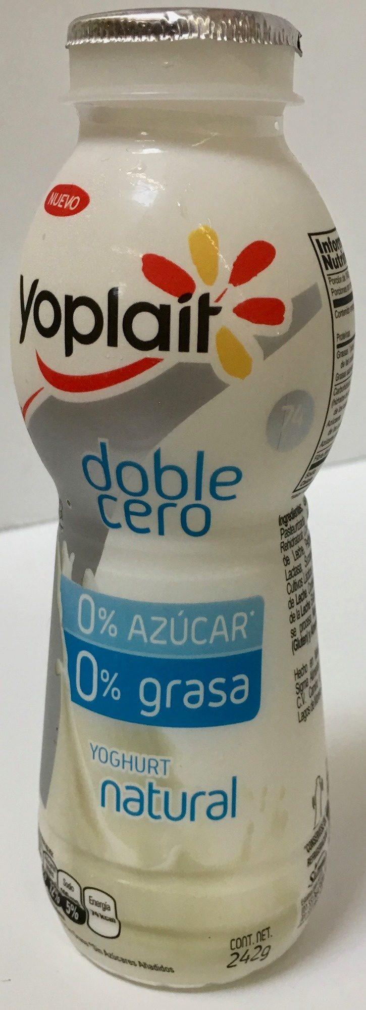 Yoplait doble cero - Natural - Producto - es