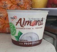 Yogurt almendra - Producto - en