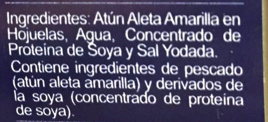Tuny - Ingredientes - es