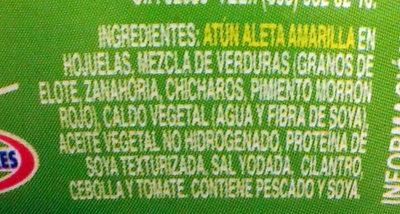 Ensalada atún Dolores - Ingrediënten - es