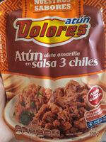 Atún Aleta Amarilla en salsa 3 chiles - Producto - es