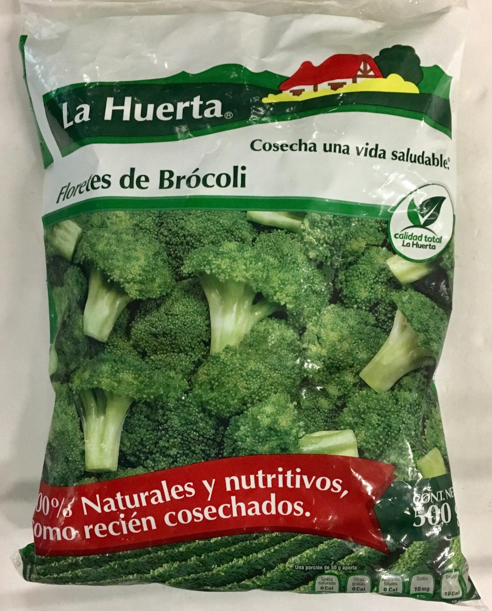 Floretes de Brócoli, La Huerta, - Product - es