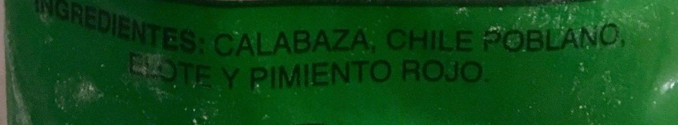 MEZCLA MEXICANA - Ingrediënten - es