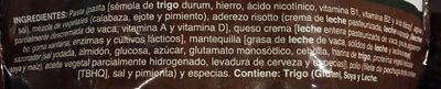 PAsta Alfredo - Ingrédients