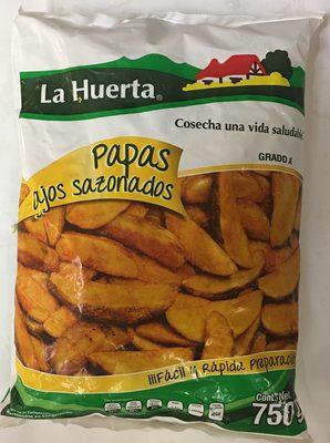 Papas Ajos Sazonados La Huerta - Product - es