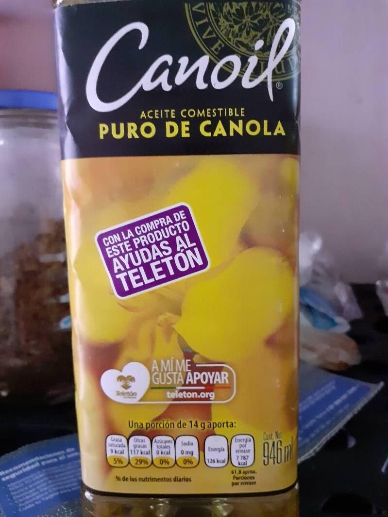 Aceite puro de canola - Producto - es