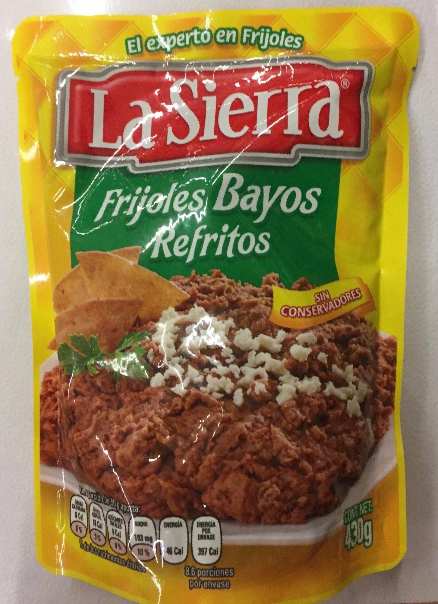 Frijoles Refritos Bayos Bolsa - Producto - es